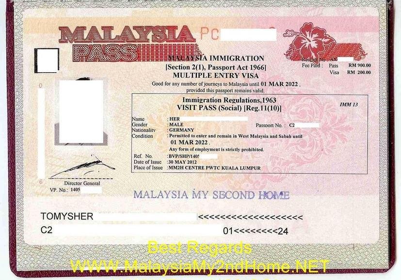 Mm2h Malaysia Agent Travel Mm2h License